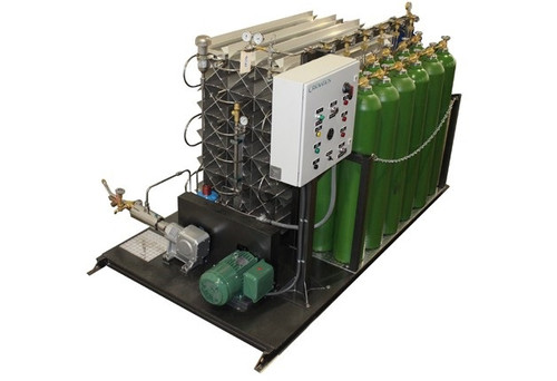 Portable Pumping Skid -- CryoVation 8000 scfh