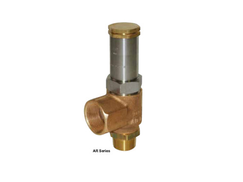 Rego AR Series Angled Relief Valve for LNG Service