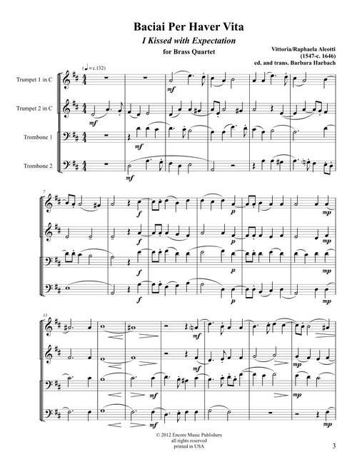 Ripresa - Vittoria Aleotti Madrigal Vol. 1
