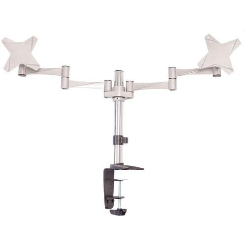Astrotek Monitor Stand Desk Mount 43cm Arm for Dual Screens 13'-29' 8kg 15° tilt 180° swivel 360° rotate VESA 75x75 100x100