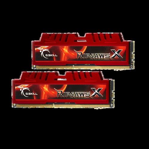 8GB G.Skill DDR3-1600 8GB Dual Channel [RipjawsX] F3-12800CL9D-8GBXL