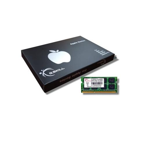 4GB G.Skill DDR3-1066 Mac SODIMM 4GB [SQ] FA-8500CL7S-4GBSQ
