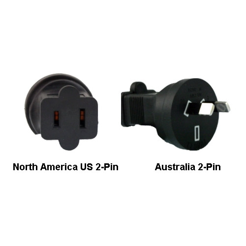 North America US to Australia Power Adapter Plug