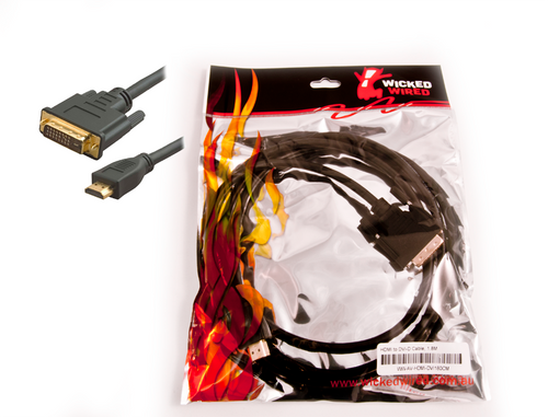 5m HDMI 1.3 To DVI-D Male Adapter Cable