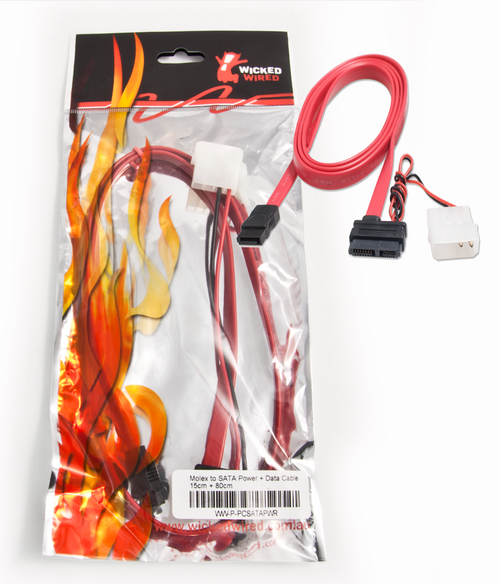 15cm 15Pin SATA Power & 80cm SATA Data Cable