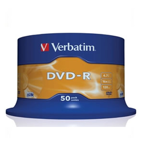 Verbatim DVD-R 16x White Printable 50pcs