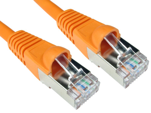 CAT5e PATCH CORD 1M ORANGE Network Cable 33845