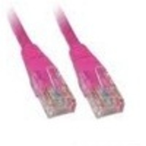 CAT5e PATCH CORD 1M PINK Network Cable 45306