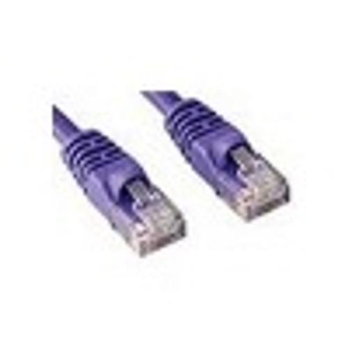 CAT5e PATCH CORD 1M PURPLE Network Cable 45345