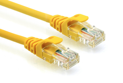 CAT6  PATCH CORD 10M YELLOW Network Cable 34378