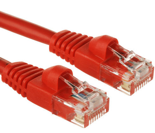 CAT6  PATCH CORD 1M RED Network Cable 34214