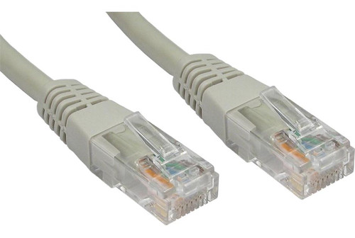 CAT6  PATCH CORD 1M GREY Network Cable 34037