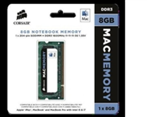 8GB Corsair Mac Memory, 1600MHz DDR3 memory module for Apple iMac