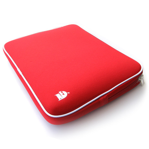 2 to 14 inch Laptop Bag Sleeve Case (red)