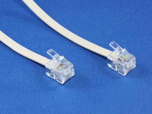 15M RJ12/RJ12 Telephone Cable