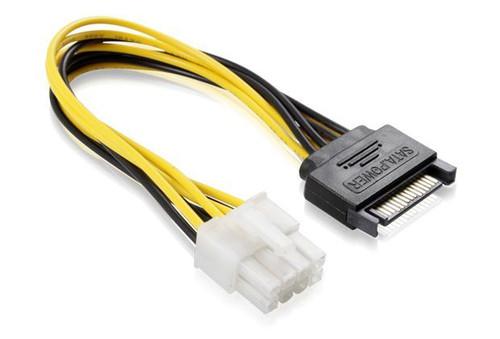 15CM SATA M To ATX P8 Cable