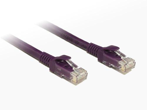 0.25M Purple Cat6 Cable