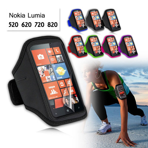 EZcool Gym Running Sport Armband for Nokia Lumia 720