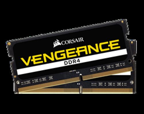 32GB Corsair DDR4, 3000MHz 2x260 SODIMM, Unbuffered,16-18-18-39, Black
