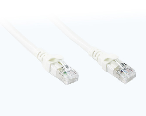 0.3M White CAT 6A 10Gb SSTP/SFTP Cable