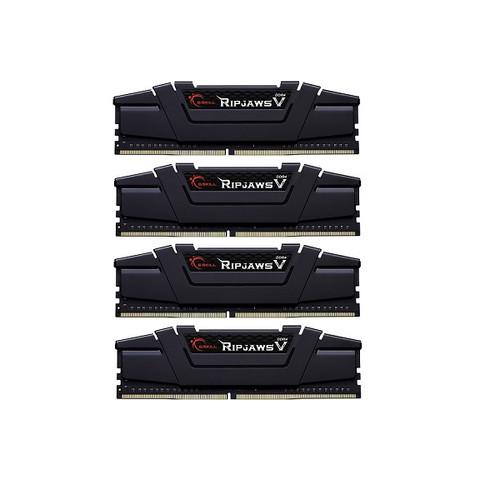 64GB G.Skill DDR4-3200 Quad Channel [Ripjaws V] F4-3200C16Q-64GVK