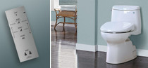 Toto S300E Washlet - (Round only) Cotton White or Sedona Beige