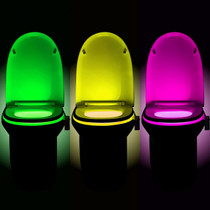 ForUChoice Multi-Color Toilet Bowl Night Light