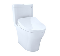 TOTO Aquia IV Washlet+ S550e Two-Piece Toilet, Universal Height – 1.28 GPF and 0.8 GPF