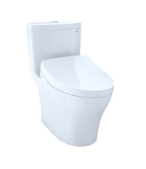 TOTO Aquia IV Washlet+ S500e Universal Height Two-Piece Toilet - 1.0 GPF and 0.8 GPF