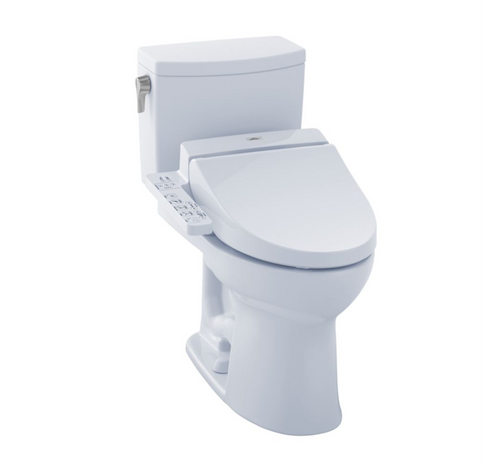 Drake II 1G Washlet+ C100 Two-Piece Toilet - 1.0 GPF