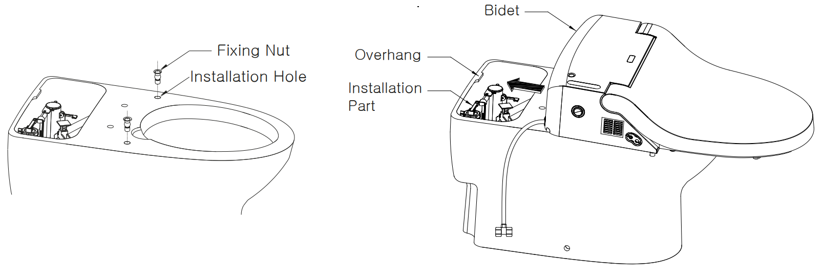 Bio Bidet Installation Instructions.Installing The Bio Bidet Uspa Ib 835 Instructions And Tips