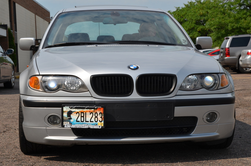 License Plate Relocation Kit - BMW and Mini Cooper