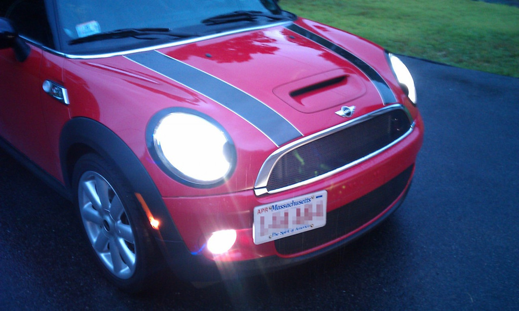 GrimmSpeed Mini Cooper License Plate Relocation Kit