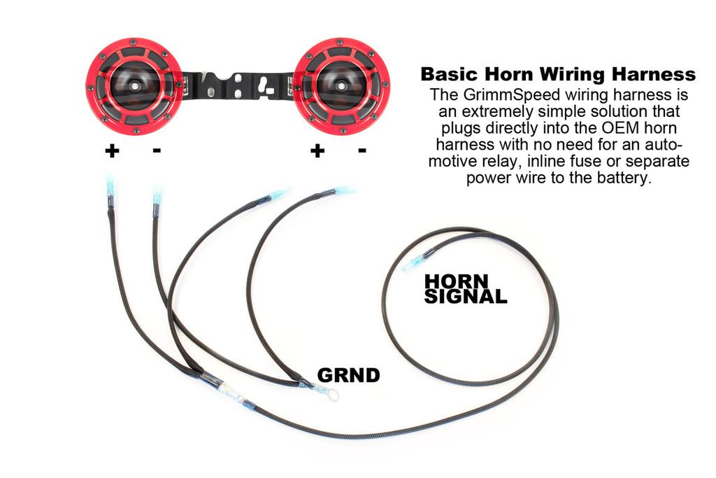 wire diagram hella horns 1972 mg midget wiring diagram for horns on brotie - mounting bracket for hella horns - wrx/sti/fxt ... #4