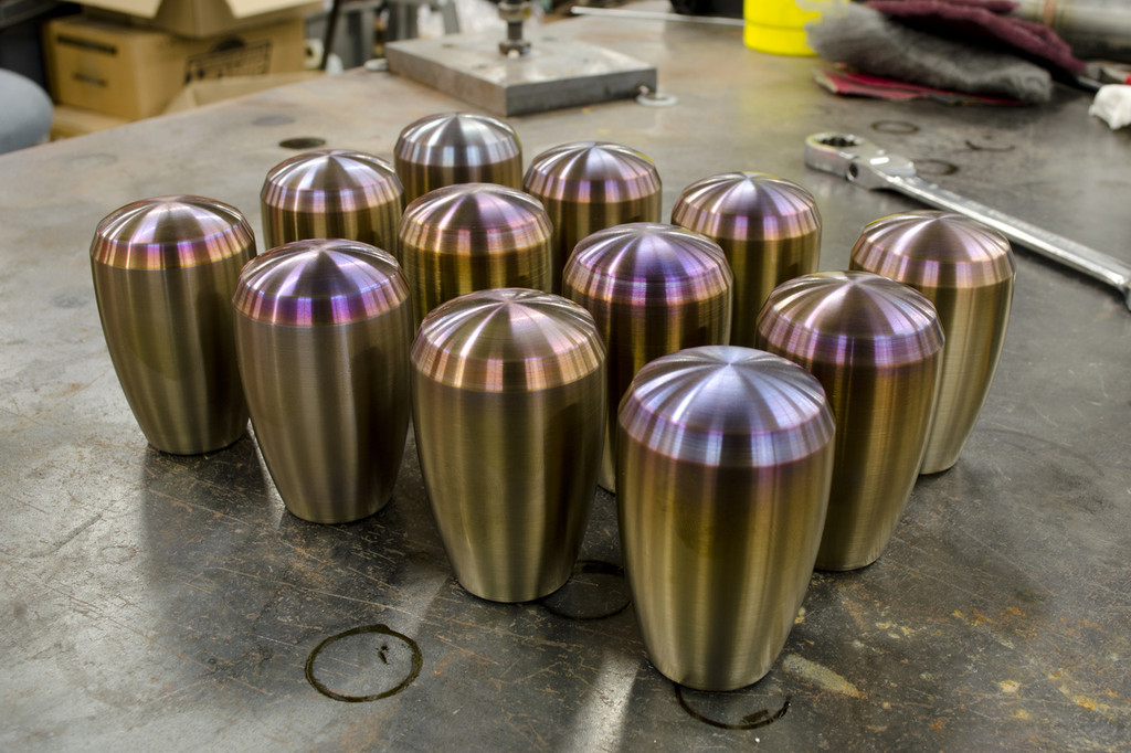 Shift Knob - Special Release Burnt Stainless Steel