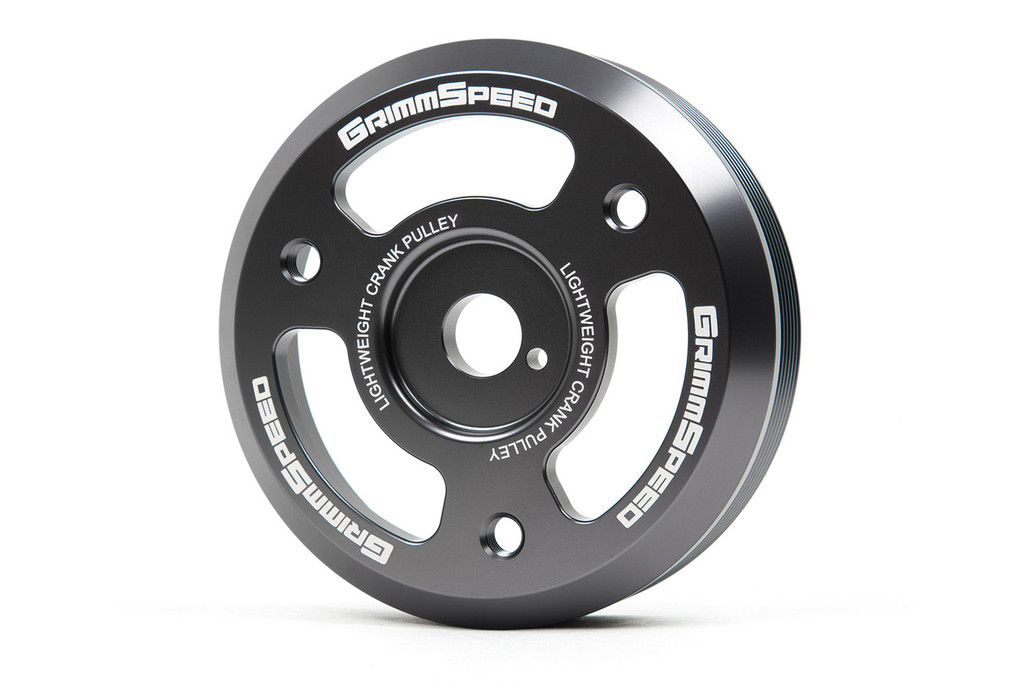 Limited Edition Gunmetal Lightweight Crank Pulley - BRZ/FRS, 2015+ WRX