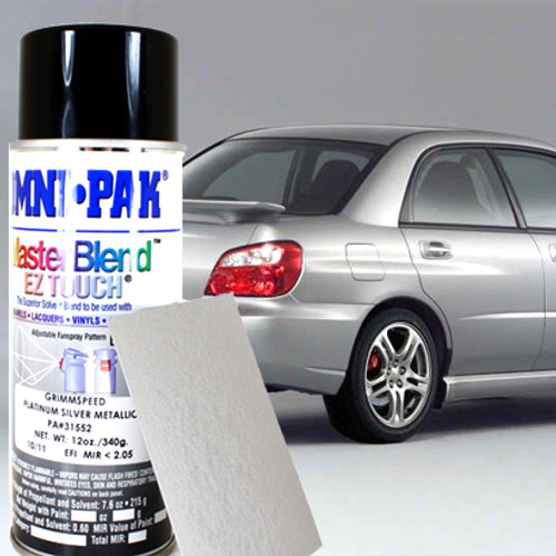 Platinum Silver Metallic Subaru Paint Compare