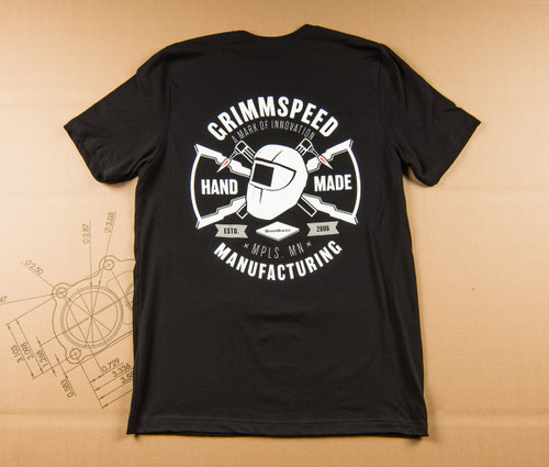 "MFG ""Hand-Made"" T-Shirt Fitted - Black"
