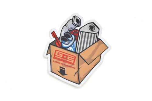 Parts Box Sticker