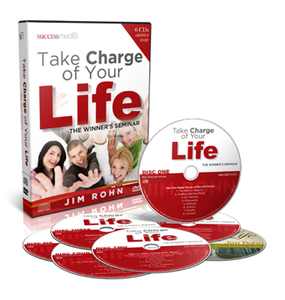 Take Charge of Your Life by Jim Rohn - with Bonus DVD!