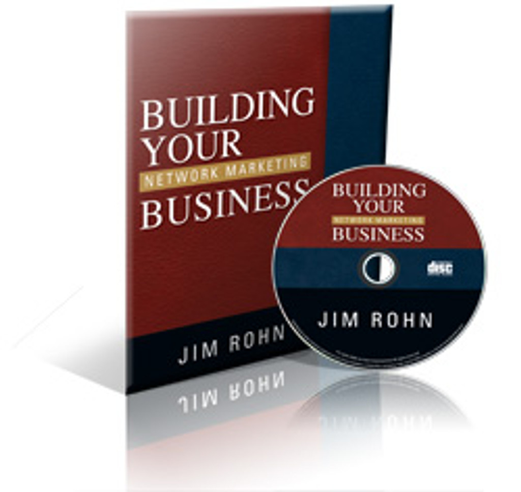 Building Your Network Marketing Business Audio CD by Jim Rohn