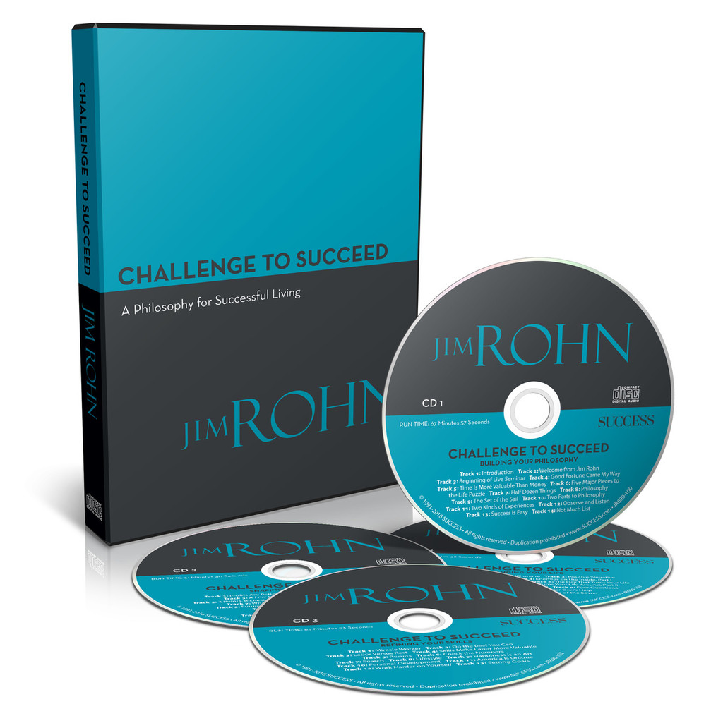Challenge to Succeed by Jim Rohn