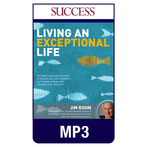 Living an Exceptional Life MP3 audio edition by Jim Rohn