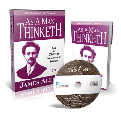 As a Man Thinketh Audio CD with Bonus Book by James Allen