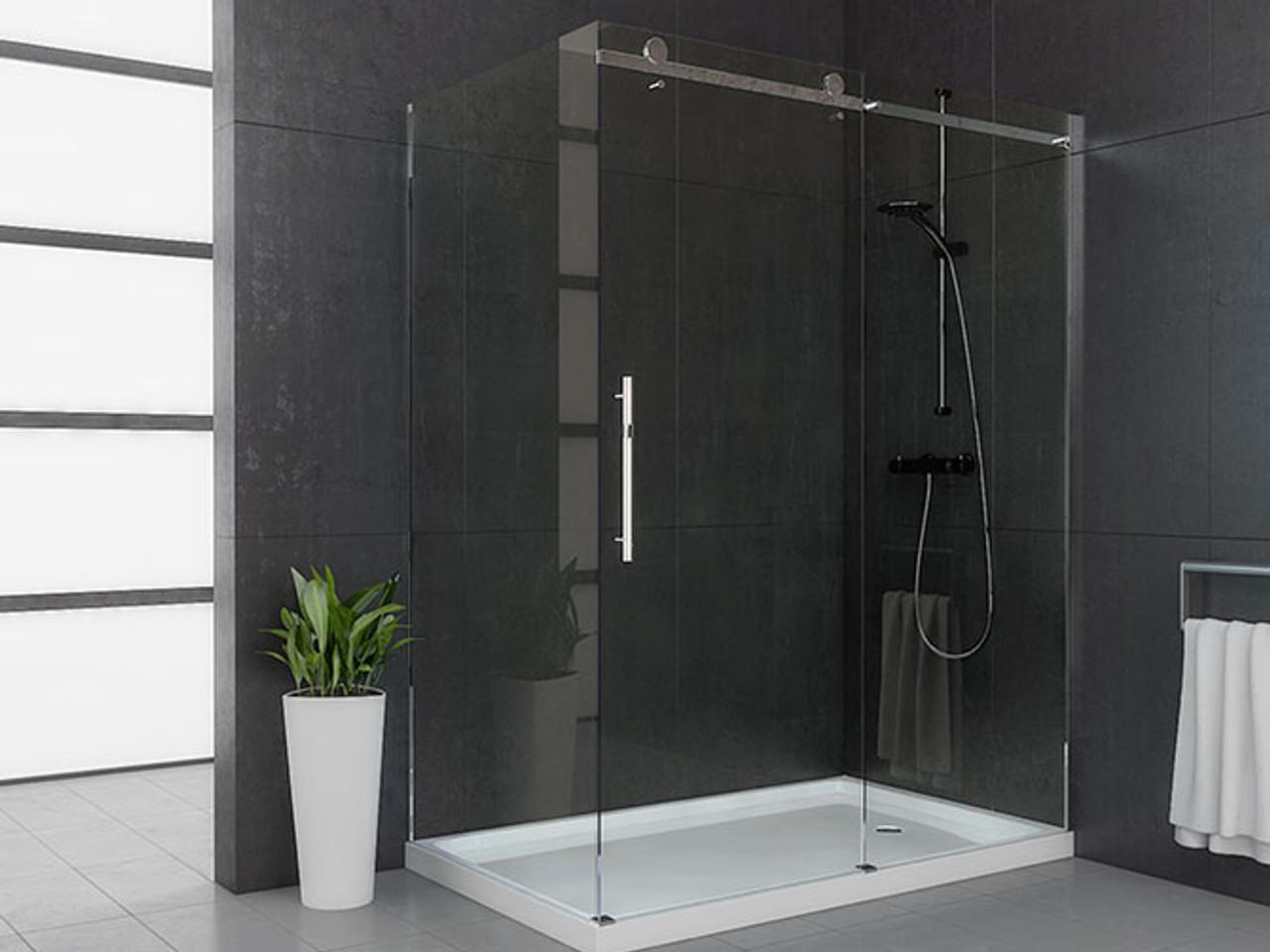 60 Quot Mirolin Roll Top Shower Door York Taps