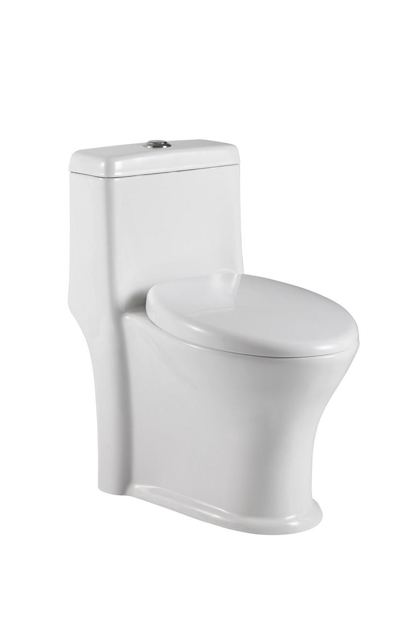 Crown Victoria Dual Flush Toilet One Piece Low Depth 23 3/4\