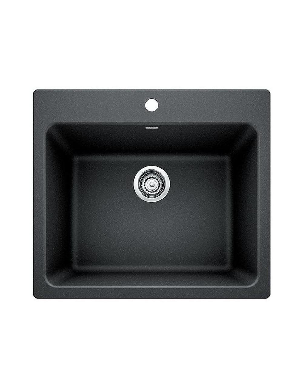 Blanco 401902 Liven Silgranite Laundry Sink York Taps