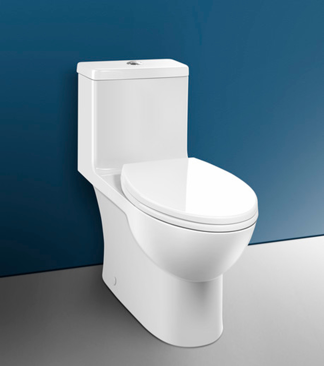 Caroma Caravelle One Piece Comfort Height Toilet White 10