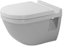 Duravit D1904200 Starck 3 Series Wallmount Toilet Kit White