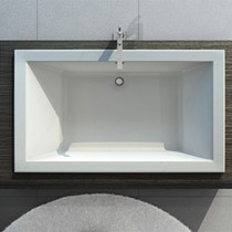 Maax Kava Drop-in Bathtub 72 x 42